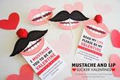 I Heart Naptime - Mustache Valentine