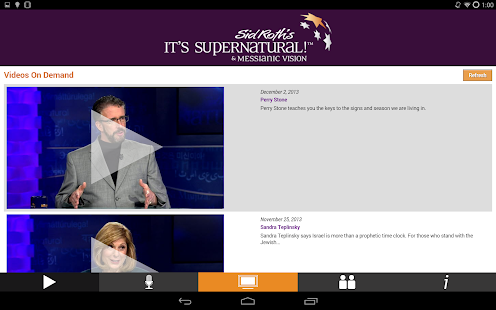 Sid Roth's It's Supernatural!- screenshot thumbnail