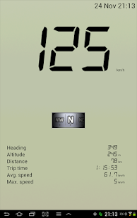 GPS Speedometer - screenshot thumbnail