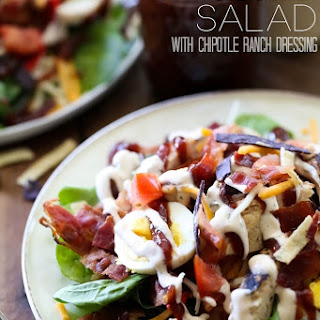 BBQ Chicken Salad with Chipotle Dressing