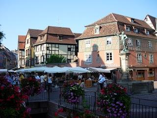 Place de l'Ancienne Douane à Colmar