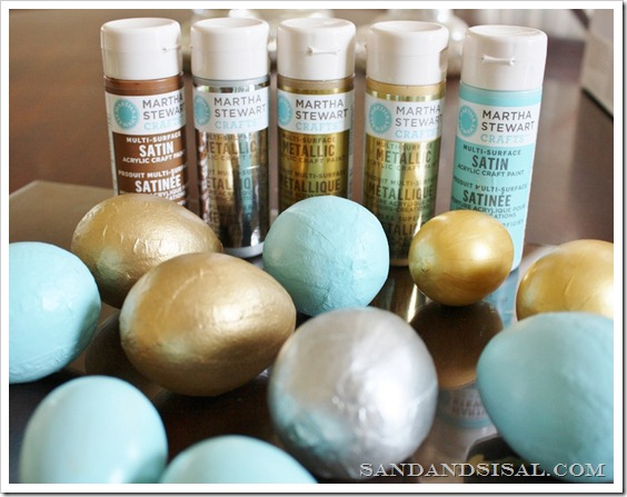 Martha Stewart Paint_ Eggs