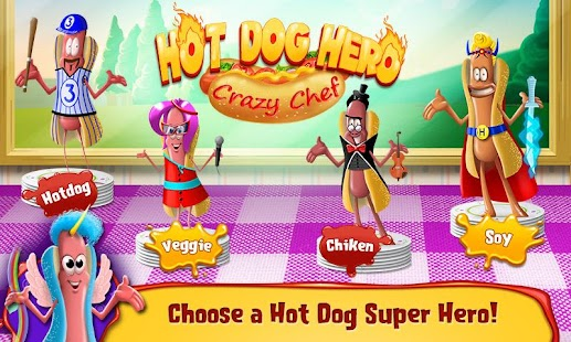 Hot Dog Hero - Crazy Chef