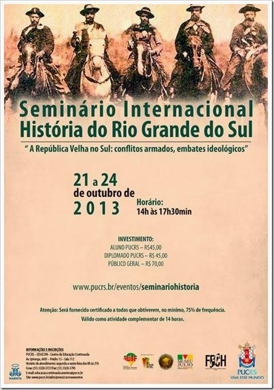 seminário rgs