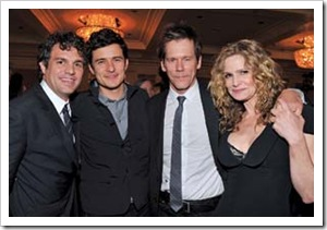 Mark Ruffalo & Orlando Bloom & Kevin Bacon & Kyra Sedgwick