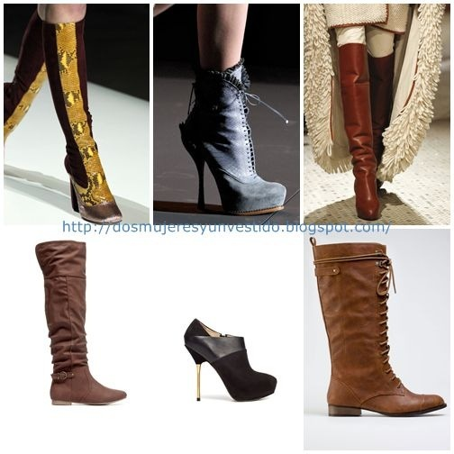Tendencias OI botas