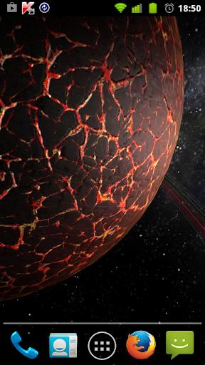 LWP 3D Fremde Planeten PRO