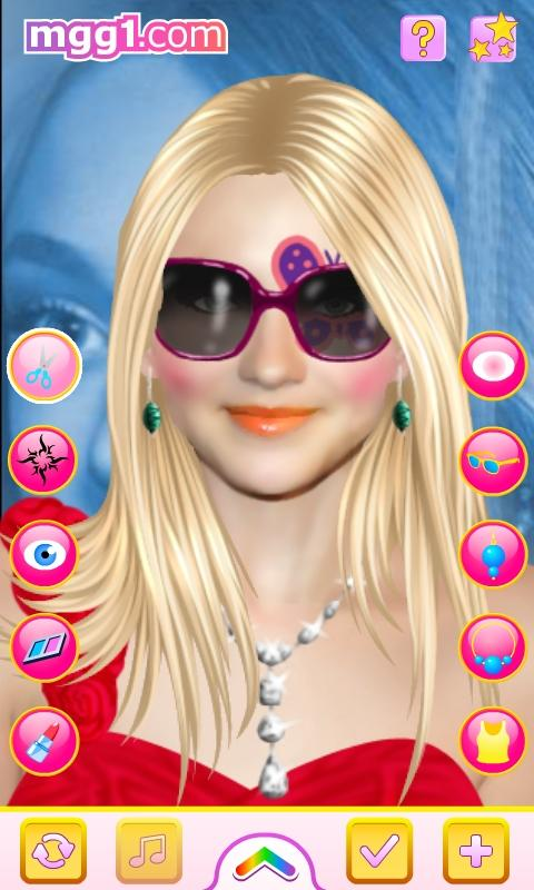 Dakota Fanning Makeover - screenshot