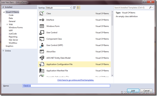add-new-class-commandwindow-visual-studio