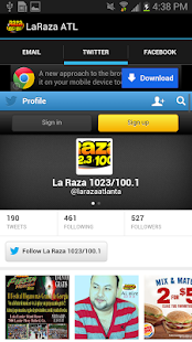 La Raza ATL- screenshot thumbnail