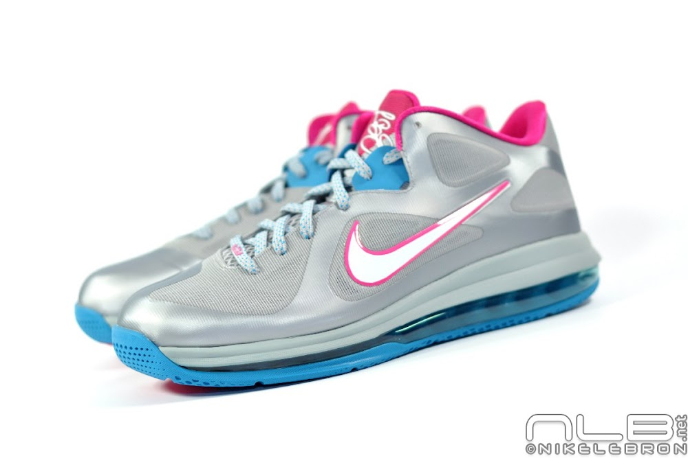 free shipping f13c7 a36d3 ... The Showcase Nike LeBron 9 Low WBF London Fireberry ...
