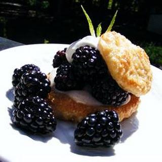 Blackberry Puff Pastry Tarts