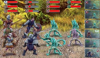 Screenshot of Tales of Illyria:Fallen Knight