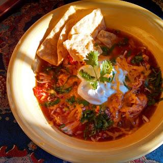 Crock-Pot Mexican Chicken Soup.