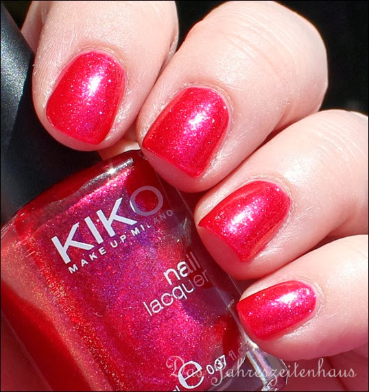KIKO 277 Blueberry Glitter 2