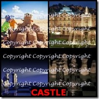 CASTLE- 4 Pics 1 Word Answers 3 Letters