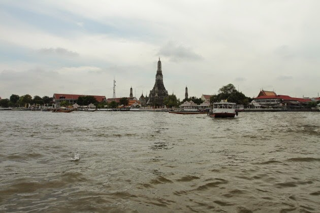 Wat Arun from the Chao Phraya River