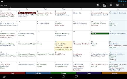Business Calendar Pro Screenshot 11