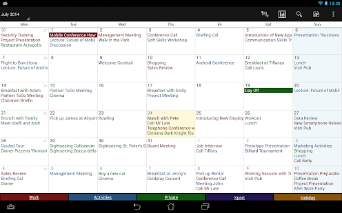 Business Calendar Pro Screenshot 11