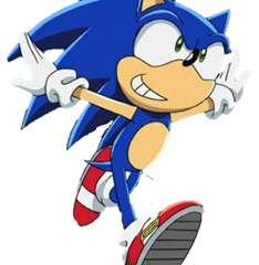 Sonicdude S Awesome Website Sonic The Hedgehog Running Like A Idiot On Sonic X