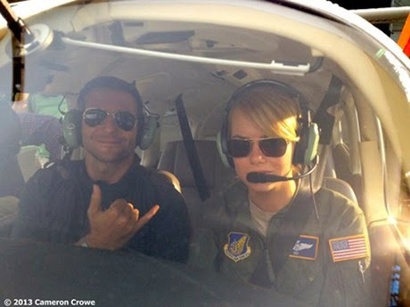 BRADLEY COOPER AND EMMA STONE IN ALOHA_