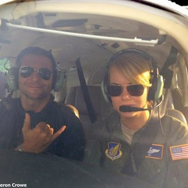 "Bradley Cooper And Emma Stone In ""Aloha"""
