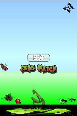 Bug Match Game
