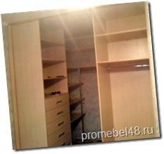 встроенная мебель на заказ в Липецке