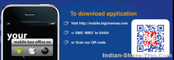 BigCinemas Mobile App for Ticket Booking