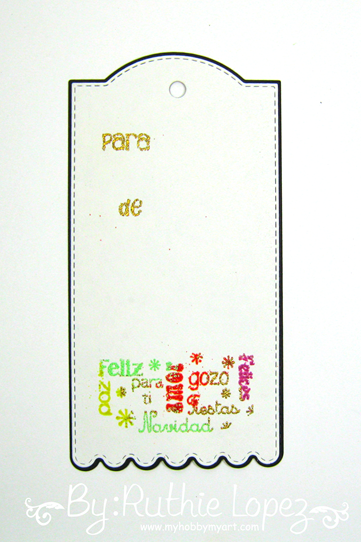 Color Paws - Embossing - Tag - Ruthie Lopez 3