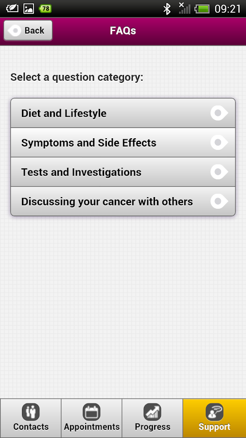 Prostate Assistant - screenshot