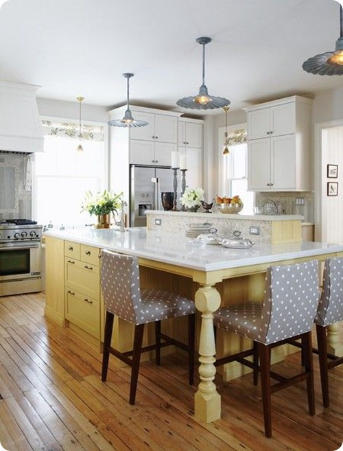 sarah richardson yellow island white cabinets
