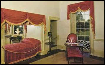 Jefferson's bedroom