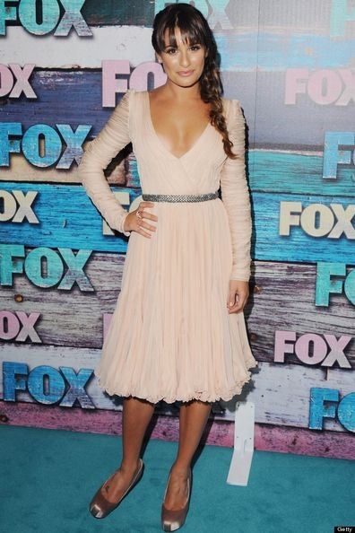 Lea Michelle-Fox-All-Star-Party