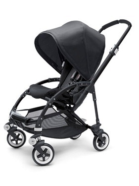 bugaboo bee all black
