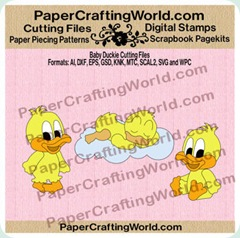 pcw duckies papered 3502