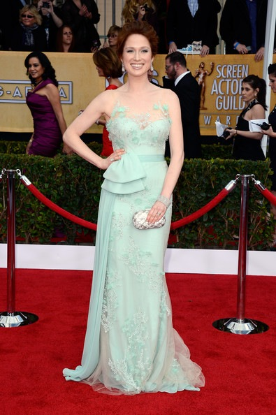 Ellie Kemper arrives at the 19th Annual Screen Actors Guild Awards