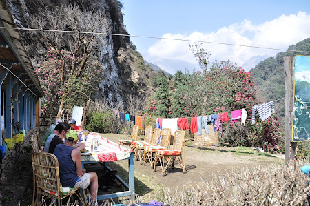 Trekking in Nepal: Pranz pe Poon Hill Trek