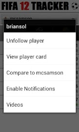 Tracker - for FIFA 12 Screenshot 7