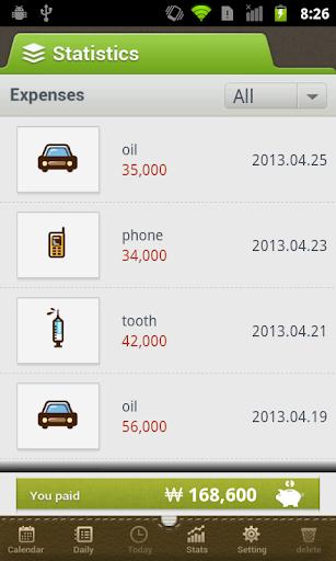 【免費財經App】가계부 - Where is my money?-APP點子
