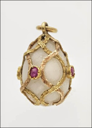 Miniature Easter Egg Pendant, 1899-1908