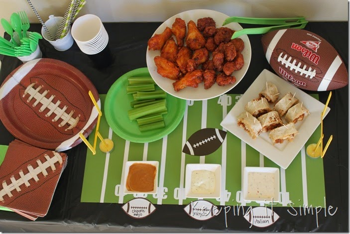 #ad Football-Game-Food-Ideas-Tyson-Wings #gametimehero (15)