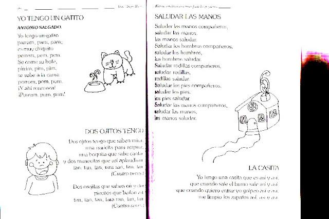 Canciones Infantiles Para Imprimir Canciones Para Niños