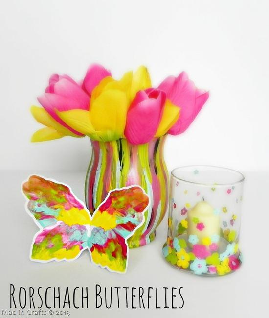 Rorschach Butterflies