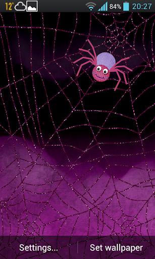 Cartoon Spider Wallpaper Trial