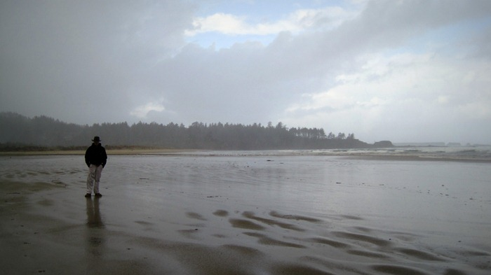 Taylor on Bastendorff Beach Coos Bay Oregon