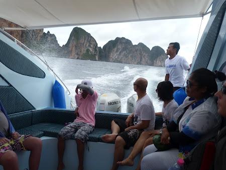 Am plecat din insula Phi Phi