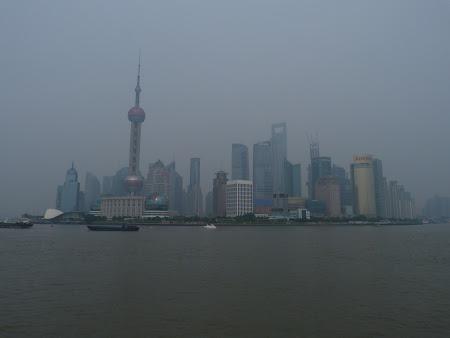 Obiective turistice Shanghai: cartierul Pudong
