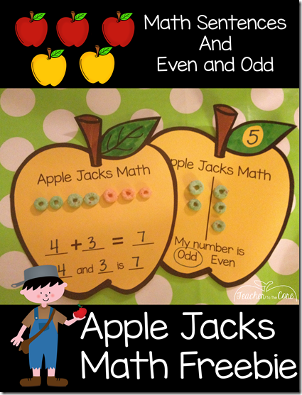 Graphing Tips for first grade and Apple Freebies