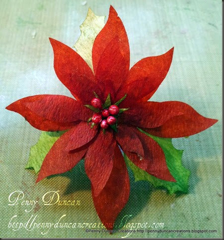 PDC Coffee Filter Poinsetta Flowers 8042012 (2)